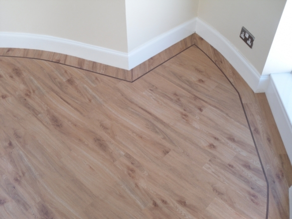 Karndean Flooring and Amitco work well in these angles