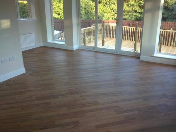 Karndean Flooring fitted in Lounge/Garden Room