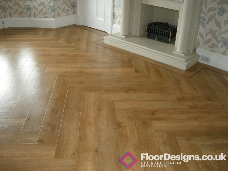 Traditional Feel With Karndean Herringbone Designs