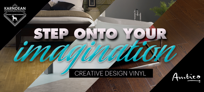 Step onto your Imagination with Luxury Designer Flooring